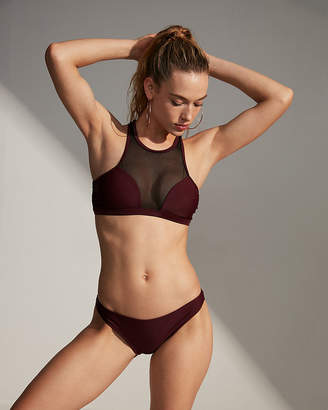 Express Low Rise Basic Bikini Swim Bottoms