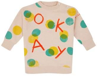 Burberry Polka Dot Sweater Dress