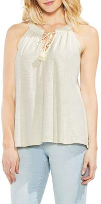 Vince Camuto Keyhole Neck Tank Top