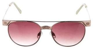 One Teaspoon Clubmaster Metal Sunglasses w/ Tags