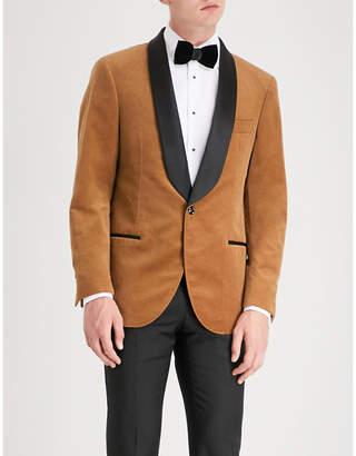 Brunello Cucinelli Shawl-lapels cotton-velvet jacket
