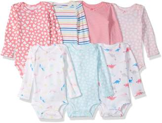 Carter's Baby 7 Pack Long Sleeve Bodysuits