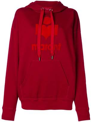 Etoile Isabel Marant trefoil logo hoodie