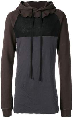 Unravel Project slim-fitted long hoodie