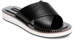 Design Lab Debi Crisscross Slip-on Sandals