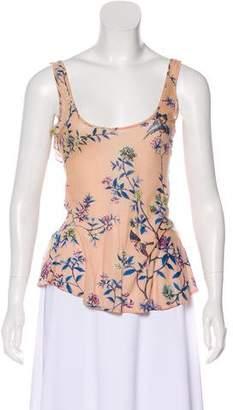 Just Cavalli Floral Print Top w/ Tags