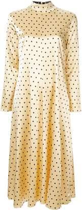 Stine Goya dotted midi dress