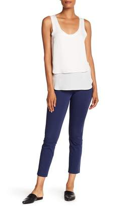 Veronica Beard Roxy Front Zip Pocket Pants