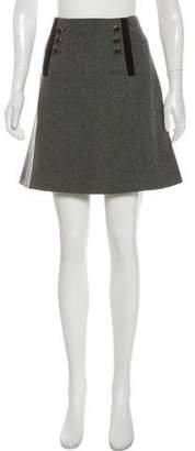 Gucci Wool Mini Skirt