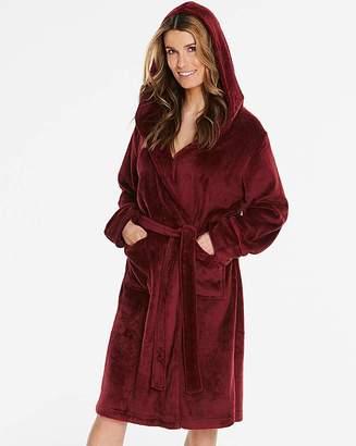Pretty Secrets Luxury Hooded Gown - L48