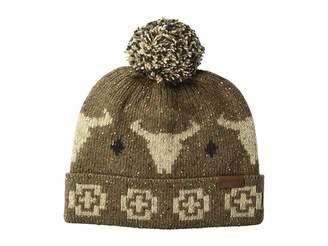 Pendleton Hat with Pom Pom