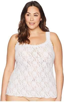 Hanky Panky Plus Size Signature Lace Unlined Cami Women's Sleeveless