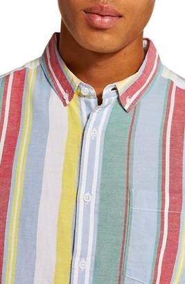 Topman Candy Stripe Shirt