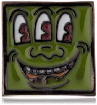 Keith Haring [キース・ヘリング スクエアーピンバッチ HRMV0001 M0