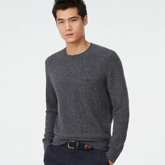 Club Monaco Cashmere Donegal Pocket Crew