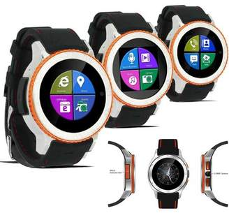 Indigi Waterproof Unlocked 2-in-1 S7 SmartWatch & Phone - Bluetooth Sync Capable - WiFi - Camera - SMS Notifications