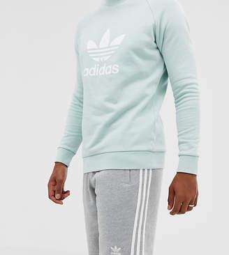 adidas three stripe shorts in grey