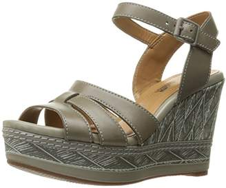 Clarks Women's Zia Noble Wedge Sandal