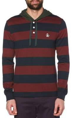 Original Penguin Rugby Cotton Jersey Hoodie