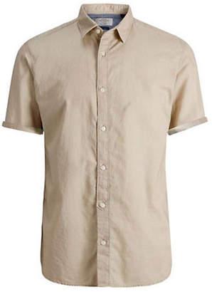 Jack and Jones Short-Sleeve Sport Shirt
