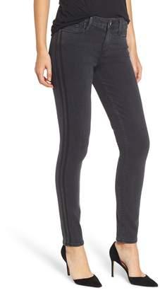 Paige Transcend - Verdugo Tuxedo Stripe Ankle Skinny Jeans