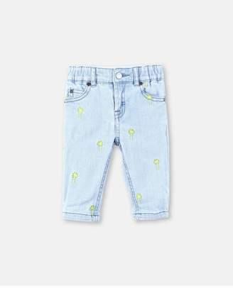 Stella McCartney Embroidery Palms Pants