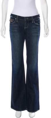 Paige Denim Low-Rise Distressed Jeans