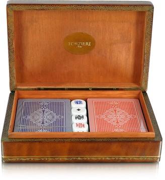 Forzieri Genuine Leather Game Box