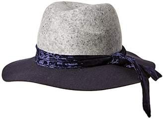 f2996e75a86 Orchid Row Women s Fashion Wranger Hat Velvet Band Navy  ...