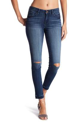 William Rast Raw Hem Skinny Ankle Jeans