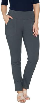 Women With Control Women with Control Tall Seamed Tummy Control Ankle Pant w/ Pockets