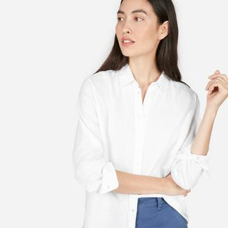 The Relaxed Linen Shirt $58 thestylecure.com