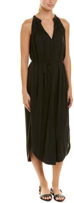 Splendid Tie-Waist Midi Dress