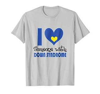 DS AWARENESS I LOVE SOMEONE WITH DS Shirt Down Syndrome Shir