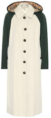 Burberry Richmond cotton gabardine coat