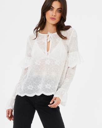 Atmos & Here ICONIC EXCLUSIVE - Ruby Broidery Blouse