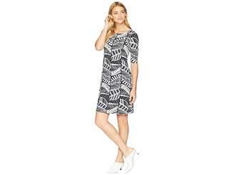 Tommy Bahama Leaf Line Shift Dress