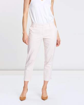 Dorothy Perkins Linen Tapered Ankle-Grazer Trousers
