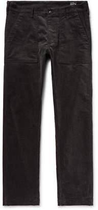 orSlow Slim-Fit Stretch-Cotton Corduroy Trousers