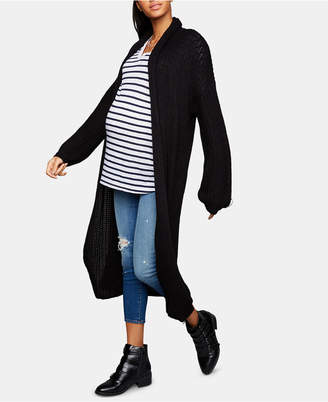 A Pea in the Pod Bb Dakota Maternity Open-Front Cardigan