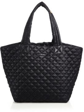 MZ Wallace Metro Medium Quilted Nylon Tote $215 thestylecure.com