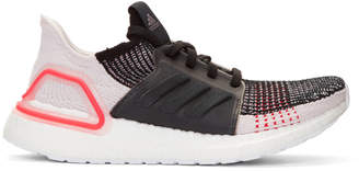 adidas Black and White Performance Ultraboost 19 Sneakers