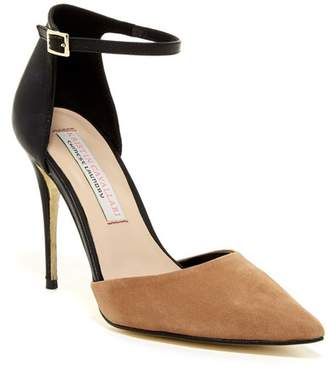 Kristin Cavallari by Chinese Laundry Drifter Suede & Leather d'Orsay Pump