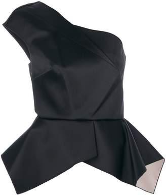 Roland Mouret one-shoulder peplum top