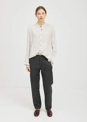 Pas De Calais Linen Pants Black