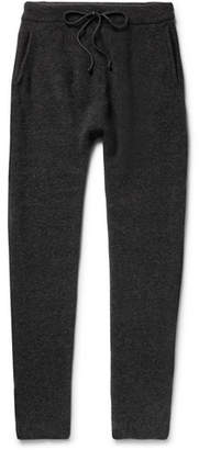 Isabel Benenato Tapered Merino Wool-Blend Sweatpants