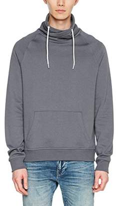 New Look Men's 5350710 Sweatshirt, (Grey NIU 6), (Size:52)