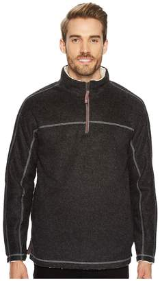 True Grit Melange and Sherpa 1/4 Zip Pullover Men's Clothing