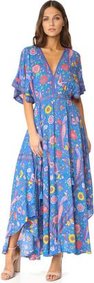 SPELL Lovebird Half Moon Gown $240 thestylecure.com