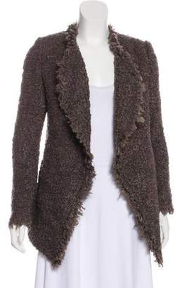 IRO Open Front Fringe-Trimmed Jacket w/ Tags